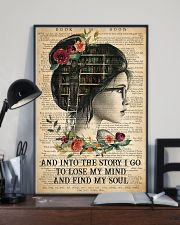 Book - And Into The Story I Go  11x17 Poster lifestyle-poster-2