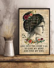 Book - And Into The Story I Go  11x17 Poster lifestyle-poster-3