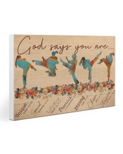 Karate God Says You Are Gallery Wrapped Canvas Prints tile