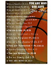 Basketball God Say You Are 11x17 Poster front