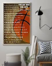 Basketball God Say You Are 11x17 Poster lifestyle-poster-1