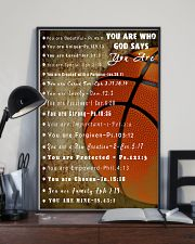 Basketball God Say You Are 11x17 Poster lifestyle-poster-2