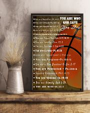 Basketball God Say You Are 11x17 Poster lifestyle-poster-3