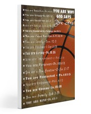 Basketball God Say You Are 20x30 Gallery Wrapped Canvas Prints thumbnail