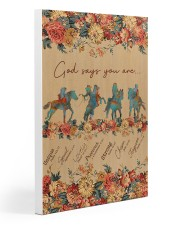 Horse Riding God Says You Are 20x30 Gallery Wrapped Canvas Prints thumbnail