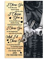 Mechanic - I Choose You Poster 11x17 Poster front