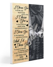 Mechanic - I Choose You Poster Gallery Wrapped Canvas Prints tile