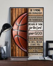 Basketball Be Strong 11x17 Poster lifestyle-poster-2