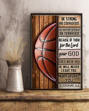 Basketball Be Strong 11x17 Poster lifestyle-poster-3