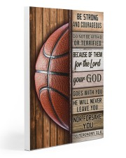 Basketball Be Strong 20x30 Gallery Wrapped Canvas Prints thumbnail