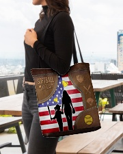 Softball Mom Tote All-over Tote aos-all-over-tote-lifestyle-front-04