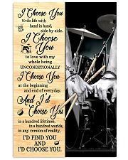 Drum - I Choose You 11x17 Poster front