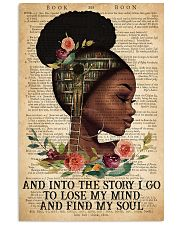 Black Girl - And Into The Story I Go  11x17 Poster front