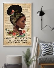 Black Girl - And Into The Story I Go  11x17 Poster lifestyle-poster-1