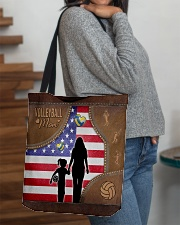 Volleyball Mom Tote All-over Tote aos-all-over-tote-lifestyle-front-09