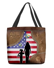 Volleyball Mom Tote All-over Tote back