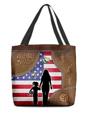 Volleyball Mom Tote All-over Tote front