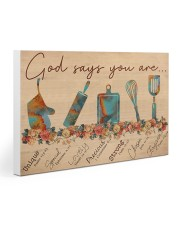 Baking God SAy You Are Gallery Wrapped Canvas Prints tile