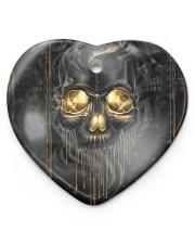Melting Skull Ornament Heart ornament - single (porcelain) thumbnail