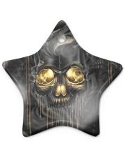 Melting Skull Ornament Star ornament - single (porcelain) thumbnail