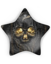 Melting Skull Ornament Star ornament - single (wood) thumbnail