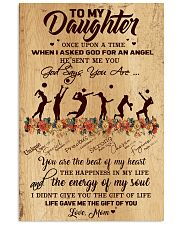 Volleyball - To My Daughter 11x17 Poster front