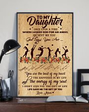 Volleyball - To My Daughter 11x17 Poster lifestyle-poster-2