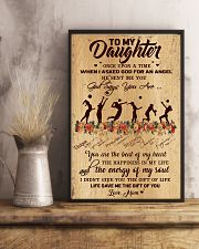 Volleyball - To My Daughter 11x17 Poster lifestyle-poster-3