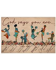 Cheerleading - God Says You Are 17x11 Poster front