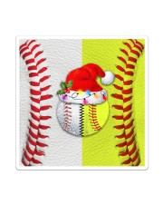 Baseball - Softball - Holiday Tote Bag Sticker tile