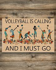 Volleyball Is Calling And I Must Go  17x11 Poster poster-landscape-17x11-lifestyle-14