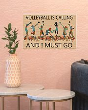 Volleyball Is Calling And I Must Go  17x11 Poster poster-landscape-17x11-lifestyle-21