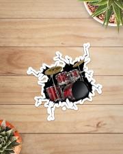 Drum Crack  Sticker - Single (Vertical) aos-sticker-single-vertical-lifestyle-front-07