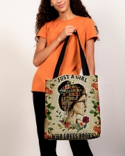 Book - Just A Girl All-over Tote aos-all-over-tote-lifestyle-front-06