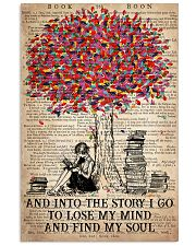 Colorful Tree - And Into The Story I Go  11x17 Poster front