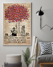 Colorful Tree - And Into The Story I Go  11x17 Poster lifestyle-poster-1