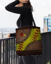 Love Softball All-over Tote aos-all-over-tote-lifestyle-front-05
