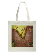 Softball Lovers Tote Bag tile