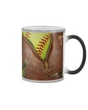 Softball Lovers Color Changing Mug tile