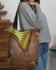 Softball Lovers All-over Tote aos-all-over-tote-lifestyle-front-09