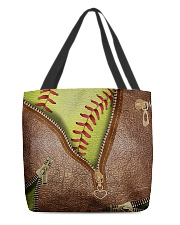 Softball Lovers All-over Tote back