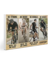 Cycling - Be Strong Gallery Wrapped Canvas Prints tile