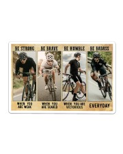 Cycling - Be Strong Sticker tile