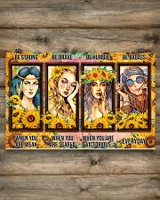 Hippie - Be Strong 17x11 Poster poster-landscape-17x11-lifestyle-14