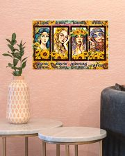 Hippie - Be Strong 17x11 Poster poster-landscape-17x11-lifestyle-21