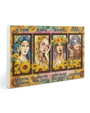 Hippie - Be Strong Gallery Wrapped Canvas Prints tile