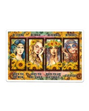 Hippie - Be Strong Sticker tile