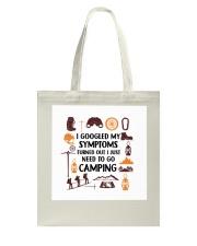 Camping - My Symptoms Tote Bag tile