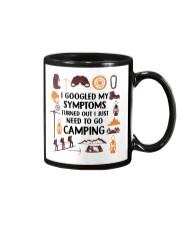Camping - My Symptoms Mug tile