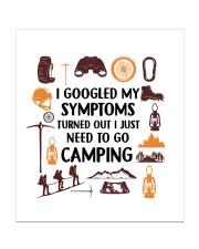 Camping - My Symptoms Sticker tile